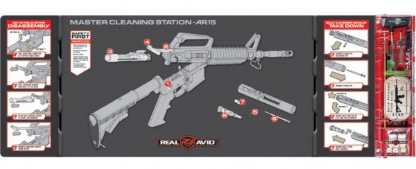 Real Avid Master Cleaning Station - AR15