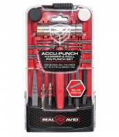 Real Avid Accu-Punch Hammer & Roll Pin Punch Set