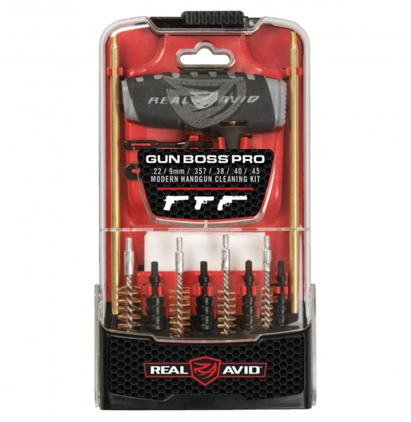 Real Avid Gun Boss Pro - Handgun Cleaning Kit