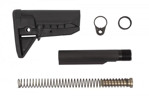 BCM GUNFIGHTER AR15 / M4 MOD-0 SOPMOD Hinterschaft-Set / schwarz