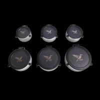 DDoptics Flipcap (schwarz) für Okular und Objektiv | Setpreis