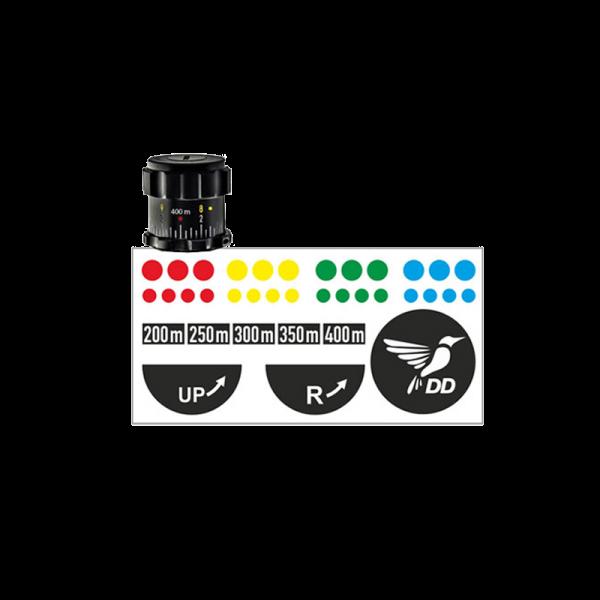 DDoptics Markierungsset | Markierungs-Set für Zielfernrohre