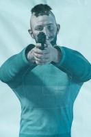 T.REX ARMS Chameleon Variable Threat System Mannscheiben