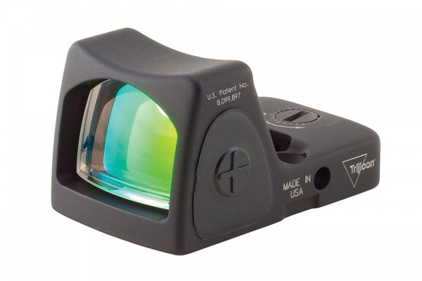Trijicon RMR Type 2 Red Dot Sight 3.25 MOA Red Dot, Adjustable LED